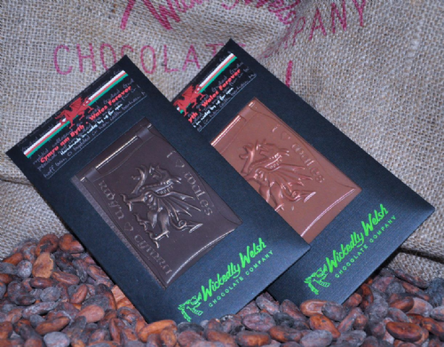 Wickedly Welsh Chocolate Bar - Welsh Dragon Dark Chocolate